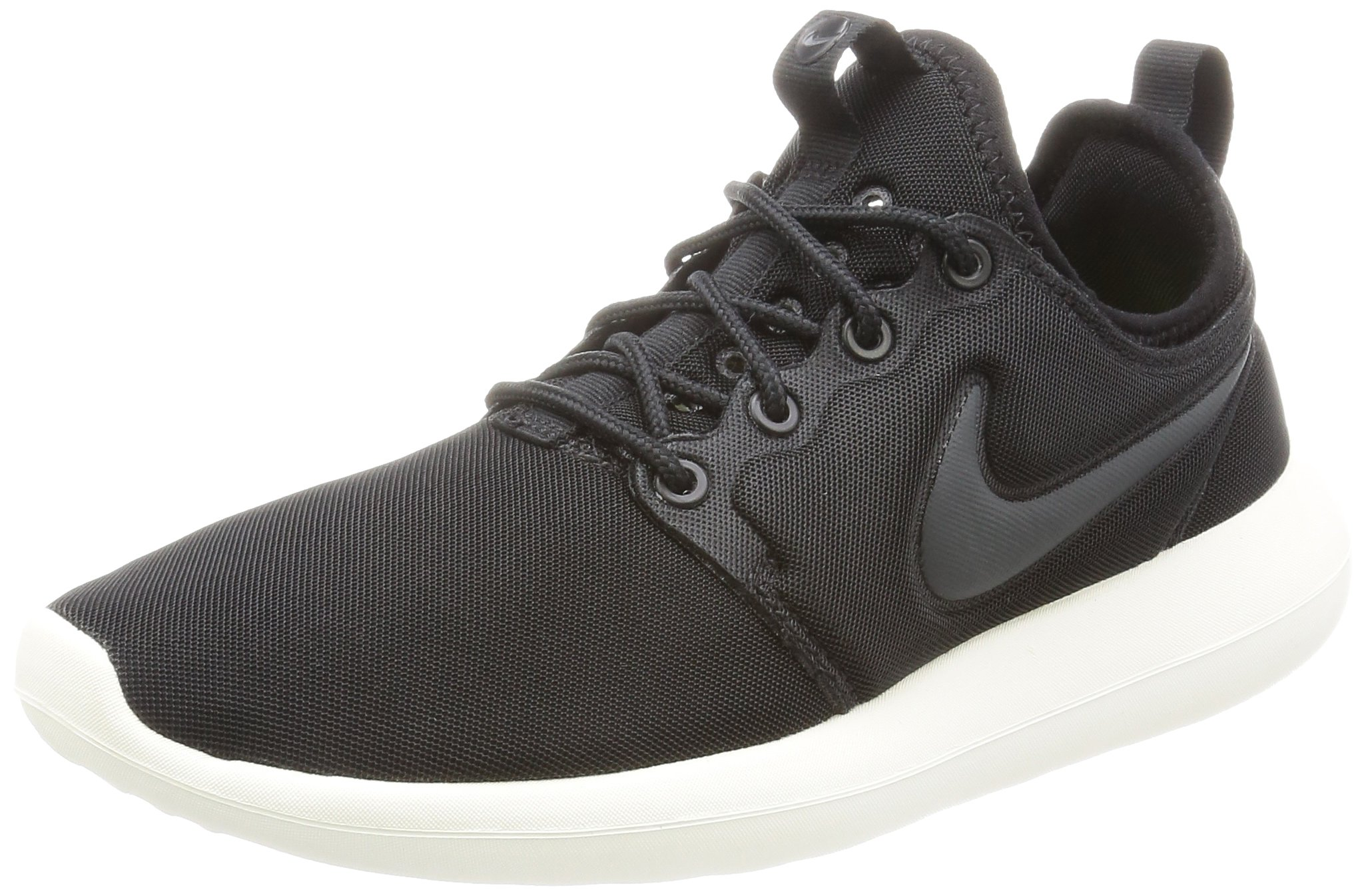 NIKE W Roshe Two Womens Running-Shoes 844931-002_10.5 - Black/Anthracite-SAIL-Volt