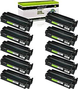 GREENCYCLE 10 PK C7115X Laserjet Toner Cartridge 15X Replacement Compatible for HP Laserjet 1000 1200 1220 3300 3310 3320 3330 3380 Series Printer