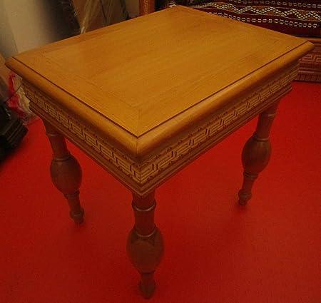 Tavolino In Legno Etnico.Etnico Arredo Mobili Etnici Tavolino Etnico Africano Orientale