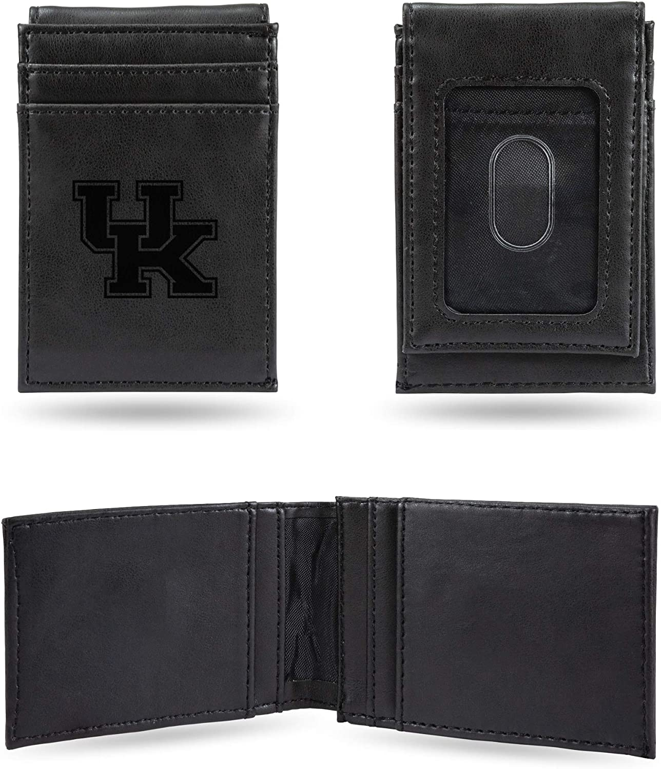 Kentucky Wildcats NCAA Rico Industries  Laser Engraved Front Pocket Wallet