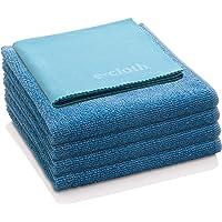 E-Cloth Home Set Microfiber Cleaning Cloth, Set of 5, Alaskan Blue