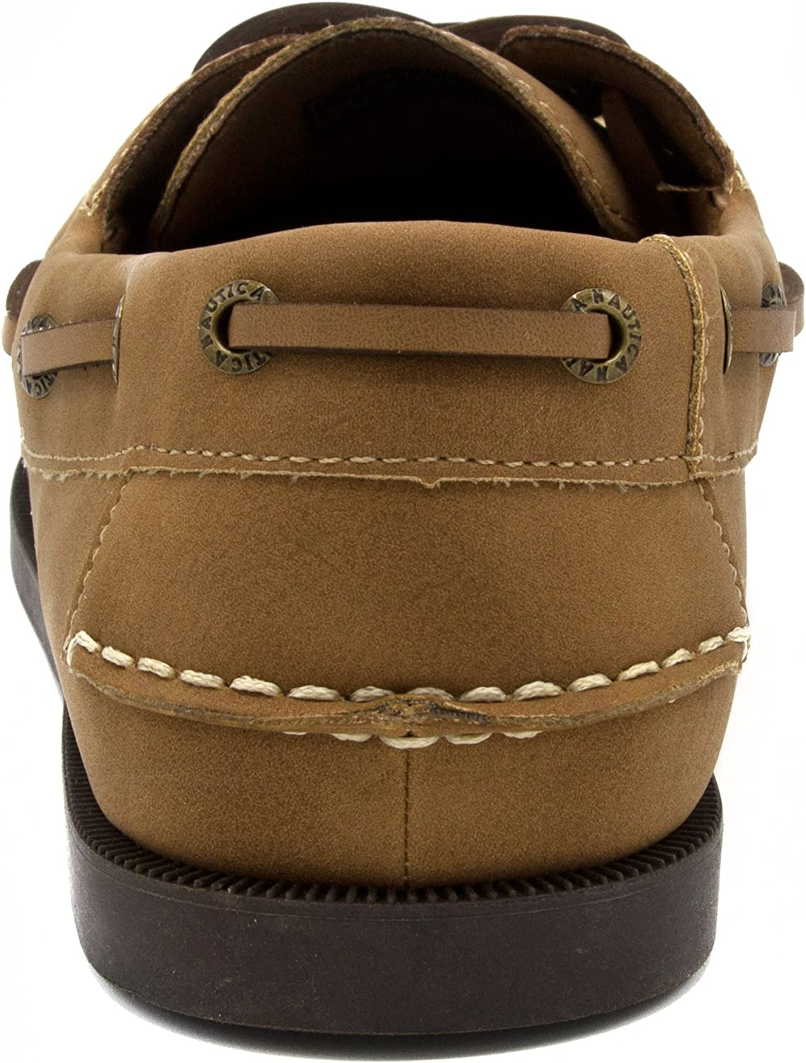 Nautica Mens Nueltin Casual Boat Shoe Loafer 2 Eye Lace Moccasins