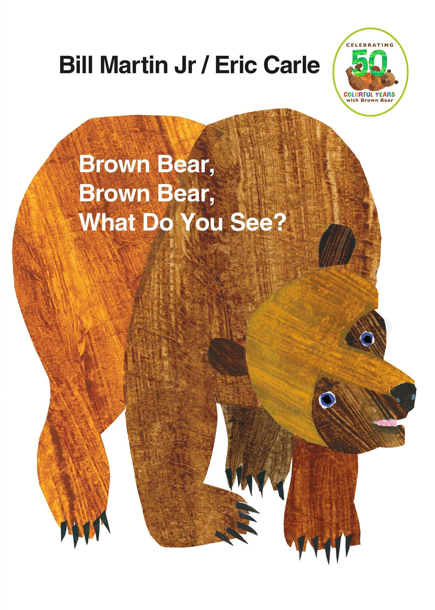 「brown bear brown bear what do you see」の画像検索結果