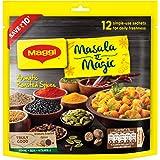 MAGGI Masala- ae -Magic Seasoning, Vegetable Masala, 78g Share Bag (12 Sachets)
