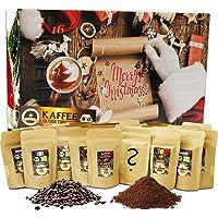"""C&T XL Koffie Adventskalender """"Biologisch / Fair"""" (Hele Bonen) 2020 met 24 biologische, zeldzaamheden en fairtradekoffie…"""