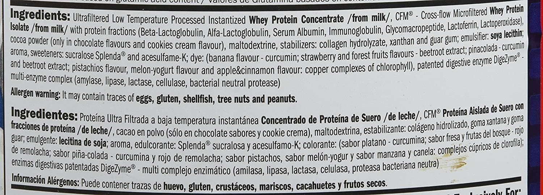 Amix Whey Pure Fusion 1 Kg Doble-Chocolate Blanco 1000 g