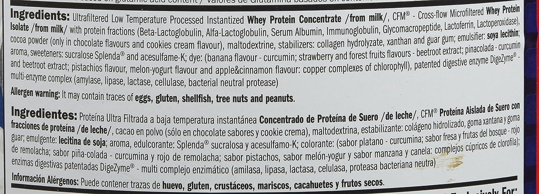 Amix Whey Pure Fusion 1 kg Doble chocolate blanco: Amazon.es: Salud y cuidado personal
