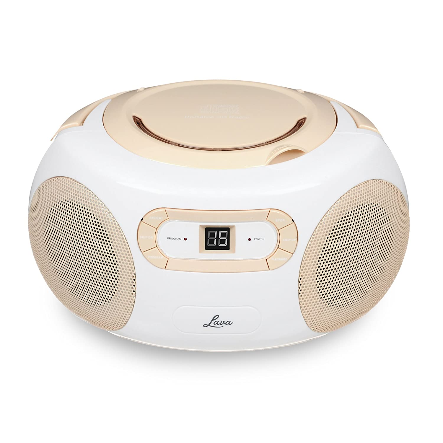 Small Cd Player For Bedroom Lava Boombox Cd Player And Fm Radio With Cd Programming Features