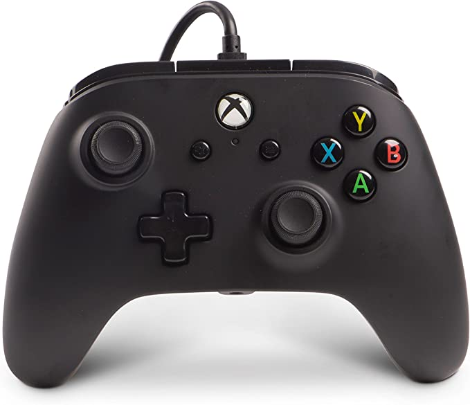 Mando Con Cable Mejorado, Color Negro (Xbox One): Amazon.es: Videojuegos