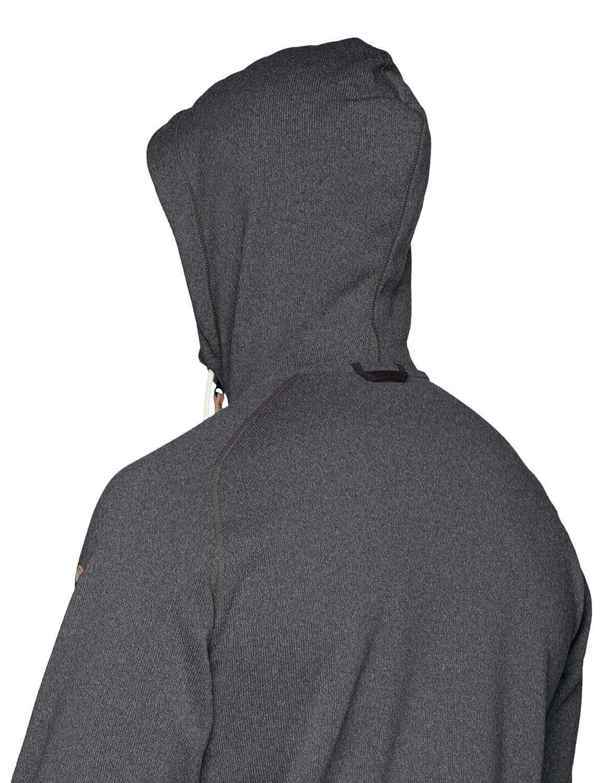 Fj/¿llr/¿ven Mens /¿vik Fleece Hoodie Dark Grey XX-Large