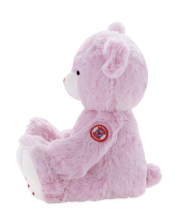 Kaloo K963550 Medium Juratoys US Corp Pink Kaloo Rouge Bear Plush
