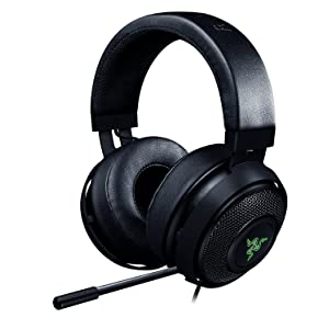 Razer Kraken 7.1 Chroma V2 USB Gaming Headset - 7.1 Surround Sound with Retractable Digital Microphone and Chroma Lighting