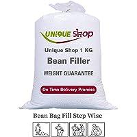 Unique Shop 1 KG Super Bean Refill/Filler (White)
