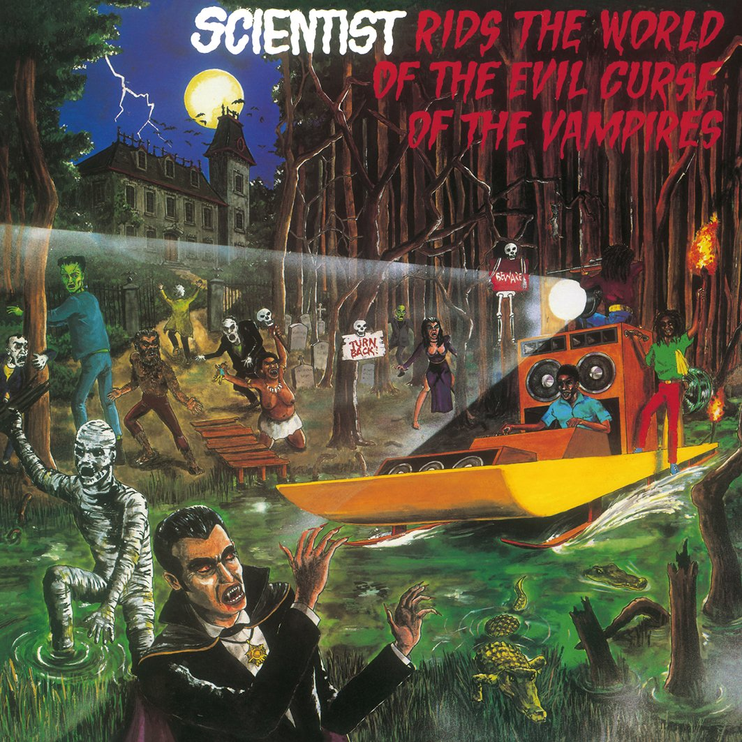 Vinilo : Scientist - Rids the World of the Evil Curse of the Vampires (LP Vinyl)