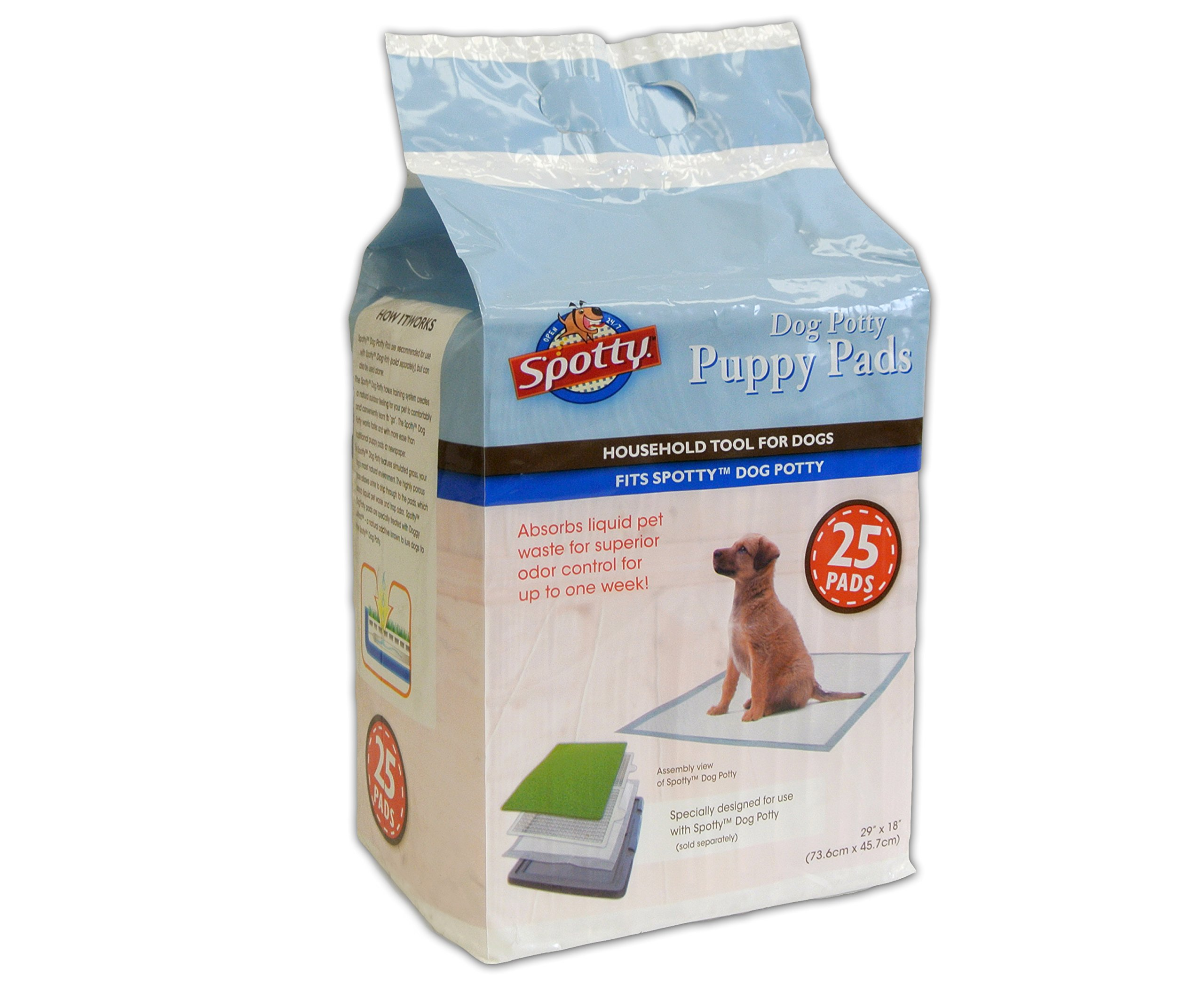 Spotty 25 Count Puppy Pads