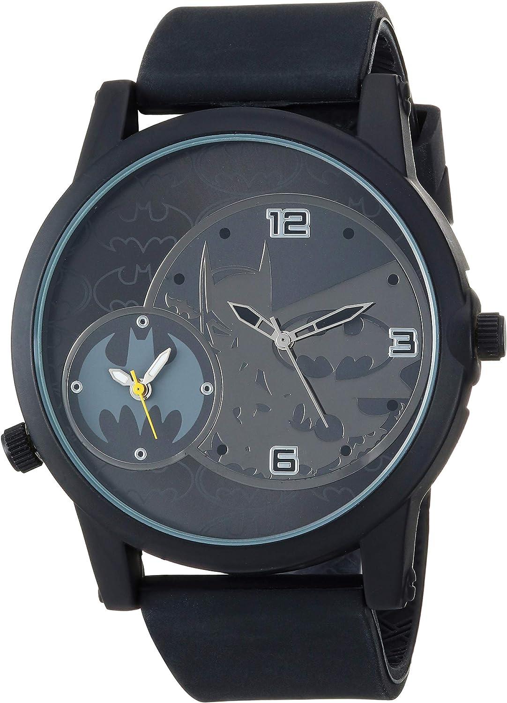 DC Comics Batman Kids BAT9356 Analog Display Analog Quartz Black Watch