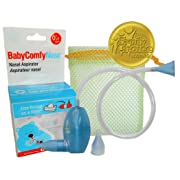 BabyComfy Nasal Aspirator -- The Snotsucker -- Hygienically & Safely Removes Baby's Nasal Mucus – Blue
