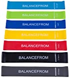 BalanceFrom Resistance Loop Exercise Bands with