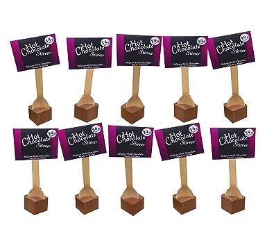 10 Hot Chocolate Stirrers