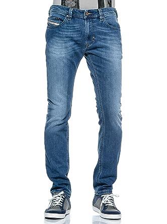 20fb6ba4 Diesel Thavar Men's Slim-Skinny Stretch Denim Jeans 0RQ20: Diesel ...