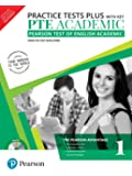 PTE Academic Practice Tests Plus (with key) by Pearson (Pearson Test of English Academic) [Paperback] [Jan 01, 2018] Pearson Test Developers