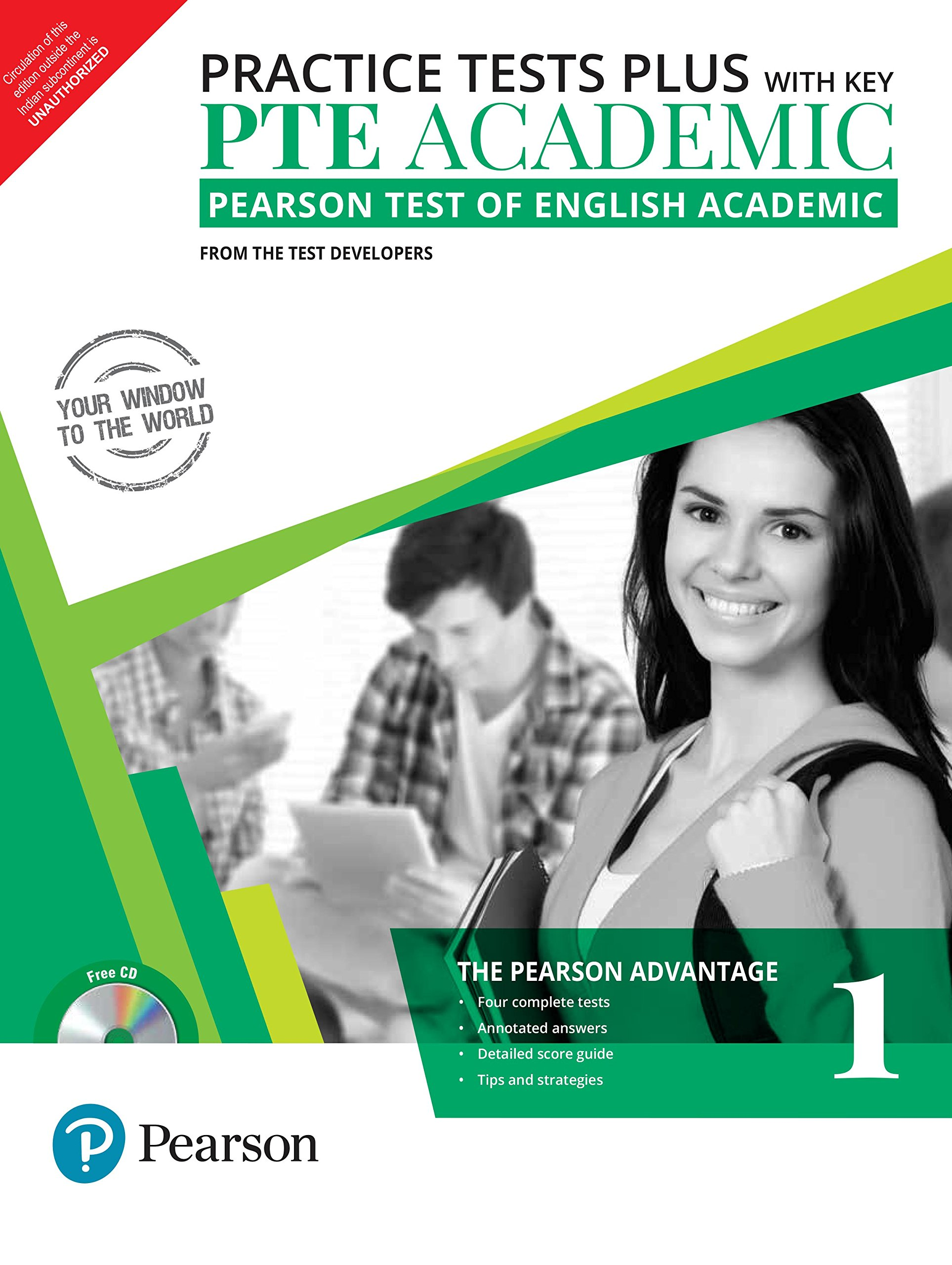 Buy PTE Academic Practice Test Plus - Volume 1 Book Online