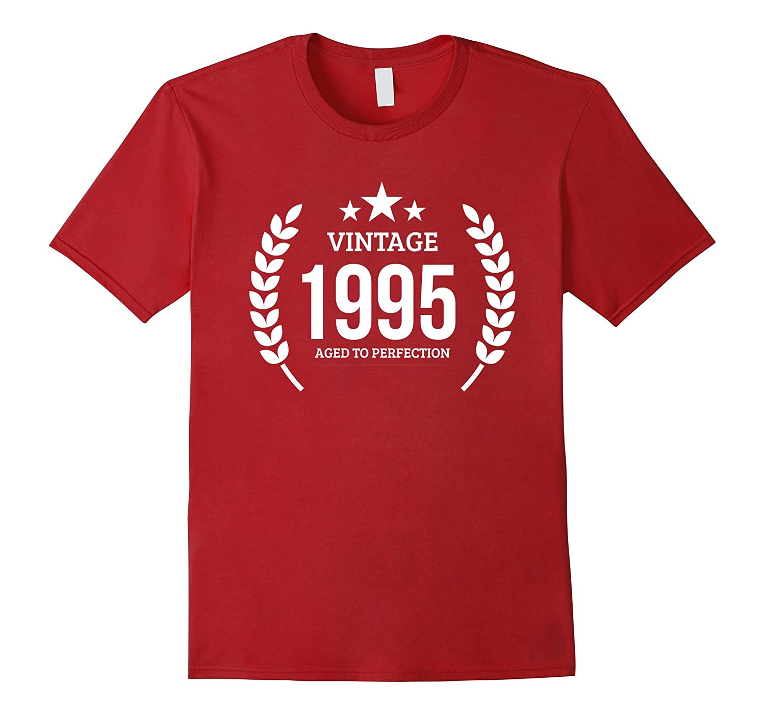 Born In 1995 Shirt 22 Year Old Birthday Gift Him Her 22nd Rose
