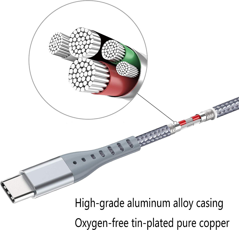 Amazon.com: XnewCable - Cable de carga rápida para Samsung ...