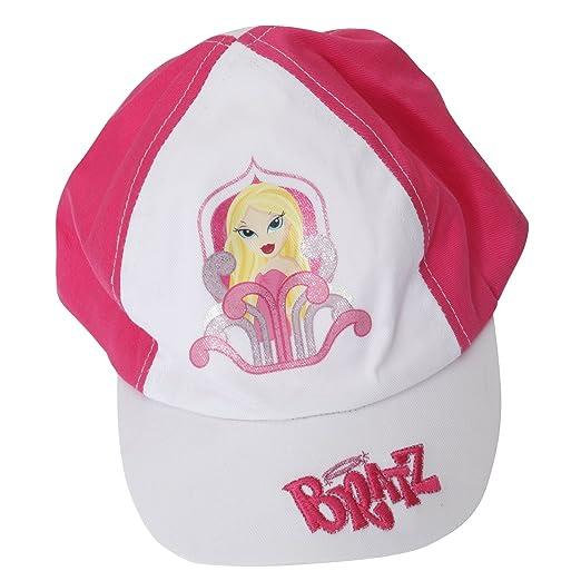 df5278cf535 Amazon.com  Bratz Big Girls Printed Baseball Cap (4-8 Years) (White ...