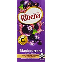Ribena Blackcurrant Fruit Drink, 200ml (Pack of 24)