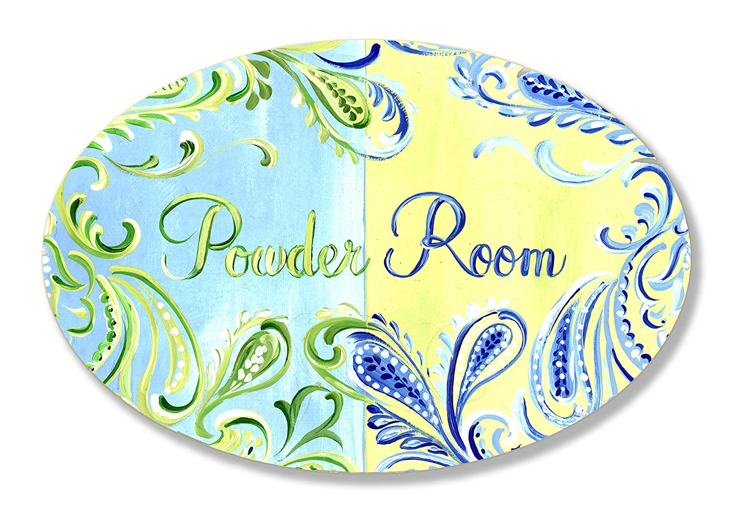 Amazon.com: The Stupell Home Decor Collection Powder Room Green ...