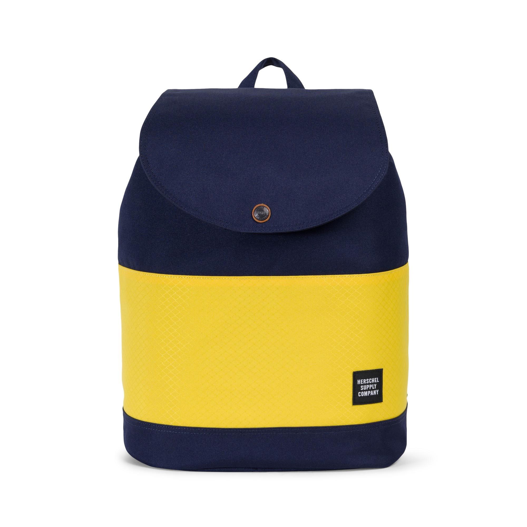 Herschel Supply Co. Reid Backpack, Peacoat/Cyber Yellow