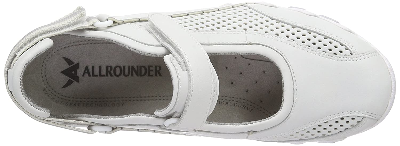 Allrounder by Mephisto P2004049, Scarpe Outdoor Multisport Donna  Soft Bianco (Blanc (30/T Soft  30 White/White)) b1d2bb