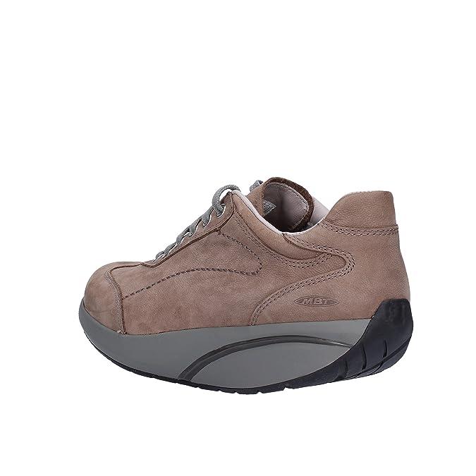 MBT Sneakers/Basket Mode Femme Textile (37 EU, Marron)