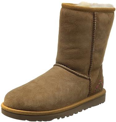 1750e4c3378 UGG Australia 1009266 Women's Classic Mini Rustic Weave Boot ...