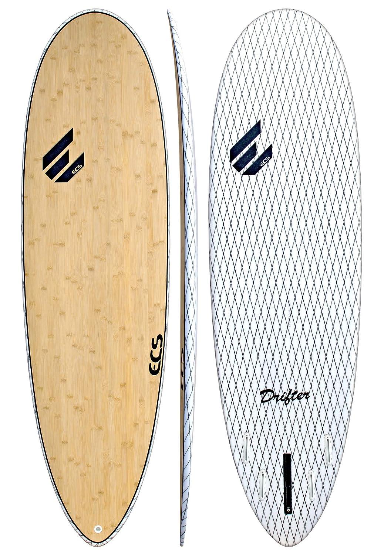 ECS Boards Drifter V-Flex Short Surfboard Shortboard Surfing Board for Longboarders