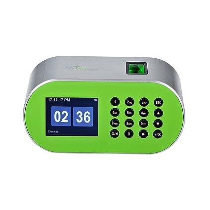 Amazon com : ZKTeco CT10 Desktop Fingerprint Time Clock Biometric