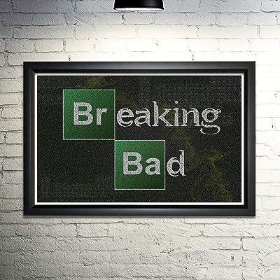 Breaking Bad word art print -11x17