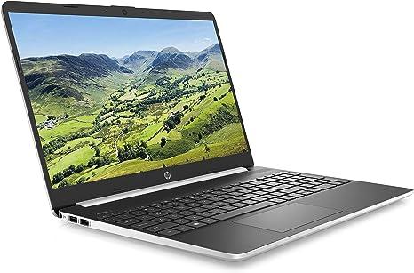 Hp 15s Fq0024na 15 6 Inch Full Hd Laptop Silver Intel Pentium Gold 5405u 4 Gb 128 Gb Ssd Windows 10 Home Amazon Co Uk Computers Accessories
