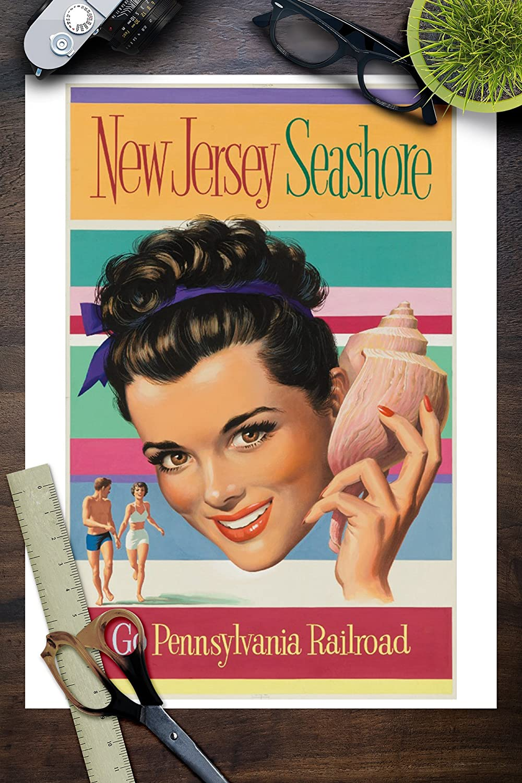 Amazon com: Pennsylvania Railroad - New Jersey Seashore