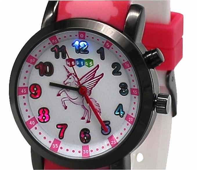 131227bd5c87 Hapids - Reloj de pulsera para niñas
