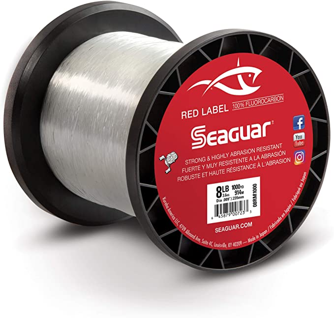 Seaguar Ace FLUOROCARBON-FISHING LINE SALT WATER 0,33mm 8,7kg 19,14lbs 50m NEW