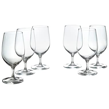 Stone & Beam Traditional Iced Beverage Wine Glasses, 14-Ounce, Set of 6