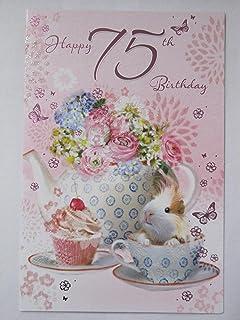 Simon Elvin 2019 75th Female Birthday Card - 1944 Was A