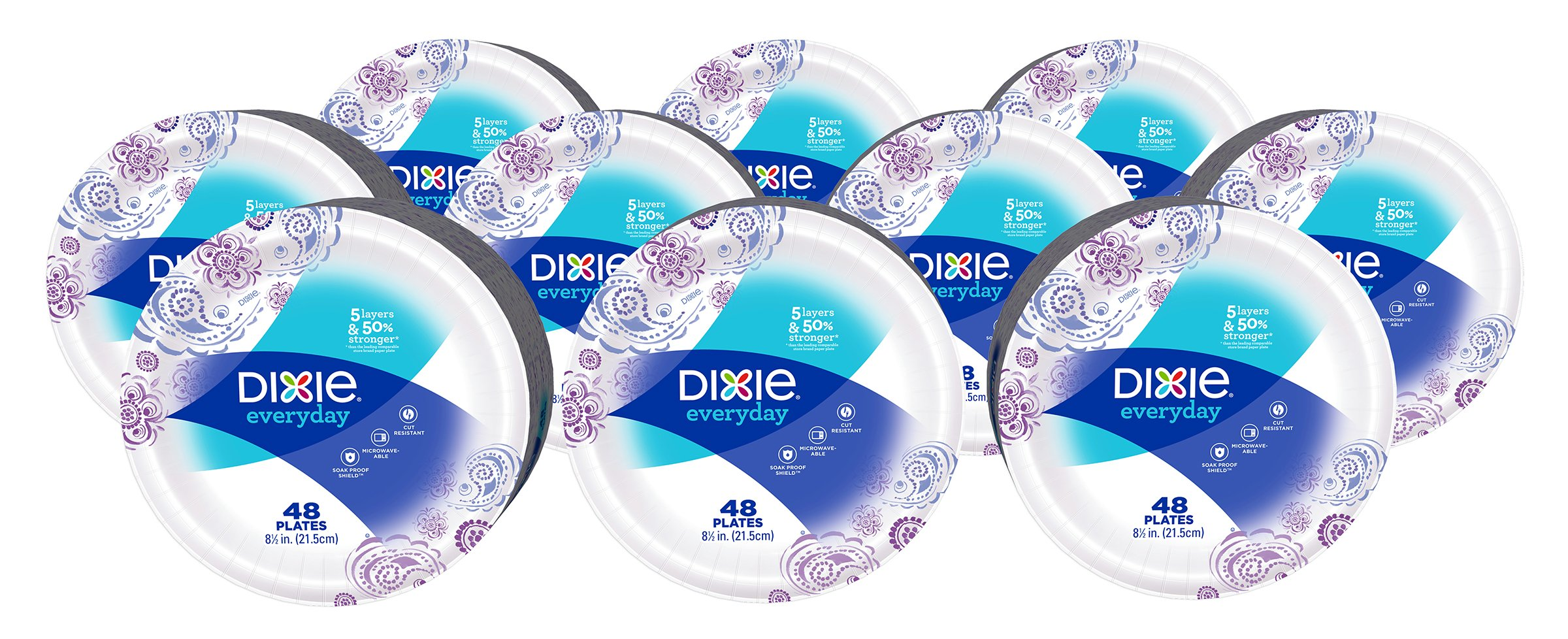 Dixie Everyday Paper Plates 8 1/2 inch 480 Count Lunch or  sc 1 st  Amazon.com & Best Rated in Disposable Plates u0026 Helpful Customer Reviews - Amazon.com