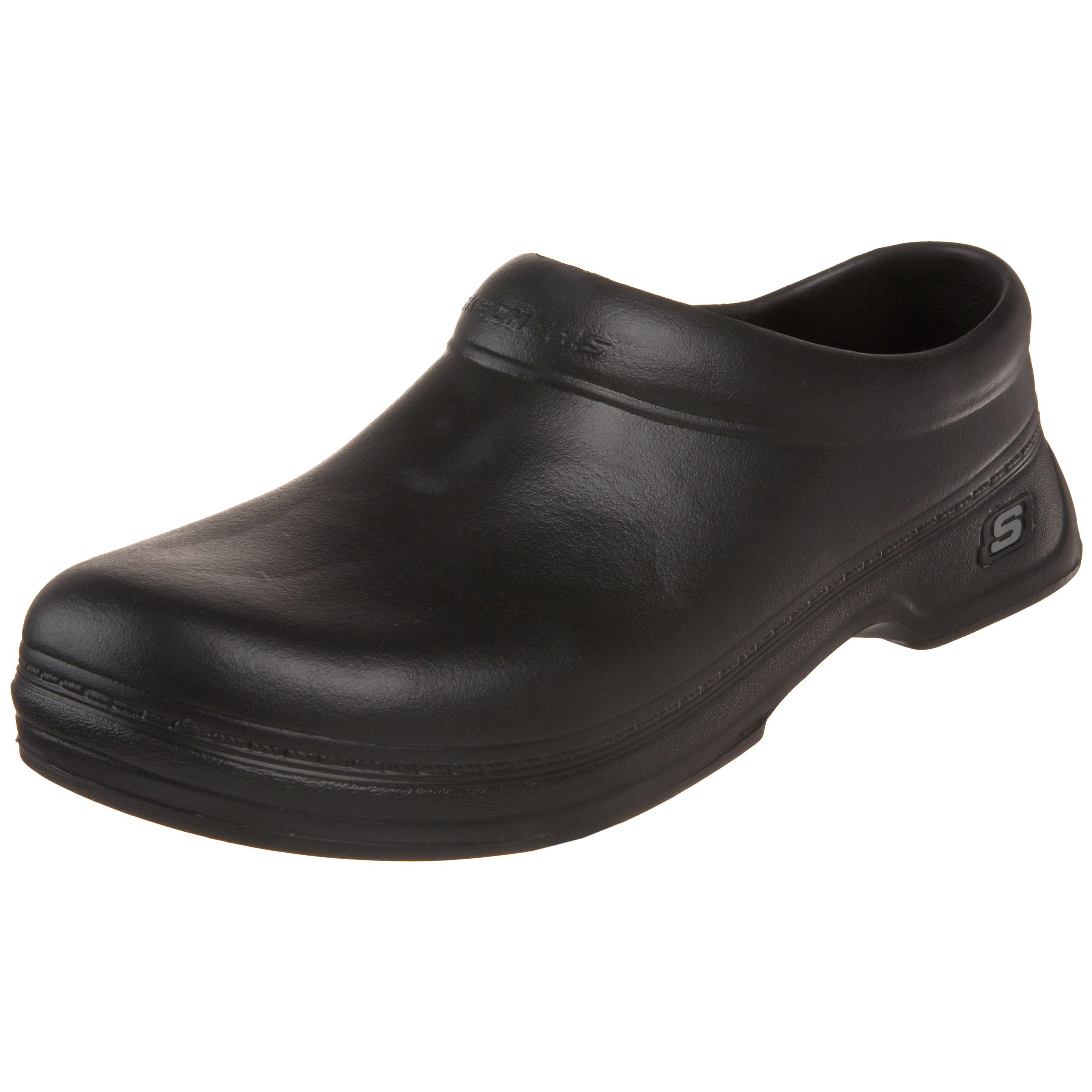 Skechers for Work Men's Balder Clog, Black, 11 M US