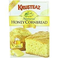 Krusteaz Natural Honey Mix, Cornbread and Muffix, 60 Ounce