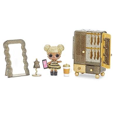 L.O.L. Surprise! Furniture Boutique with Queen Bee & 10+ Surprises, Multicolor: Toys & Games