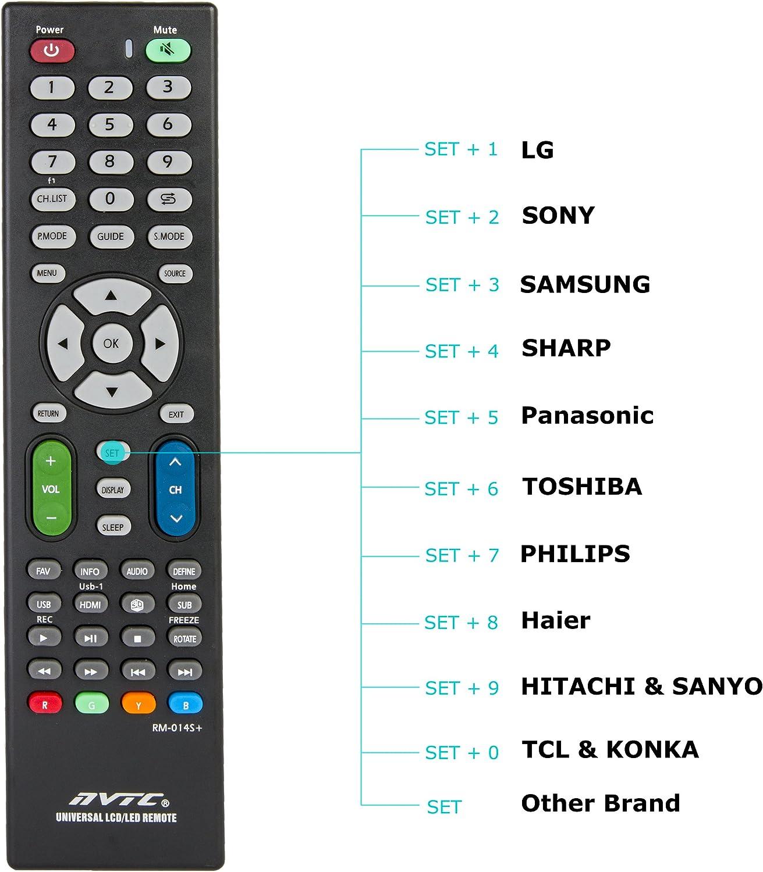 Oramics – Mando a distancia universal LCD/LED TV Para Todo Tipo De ...