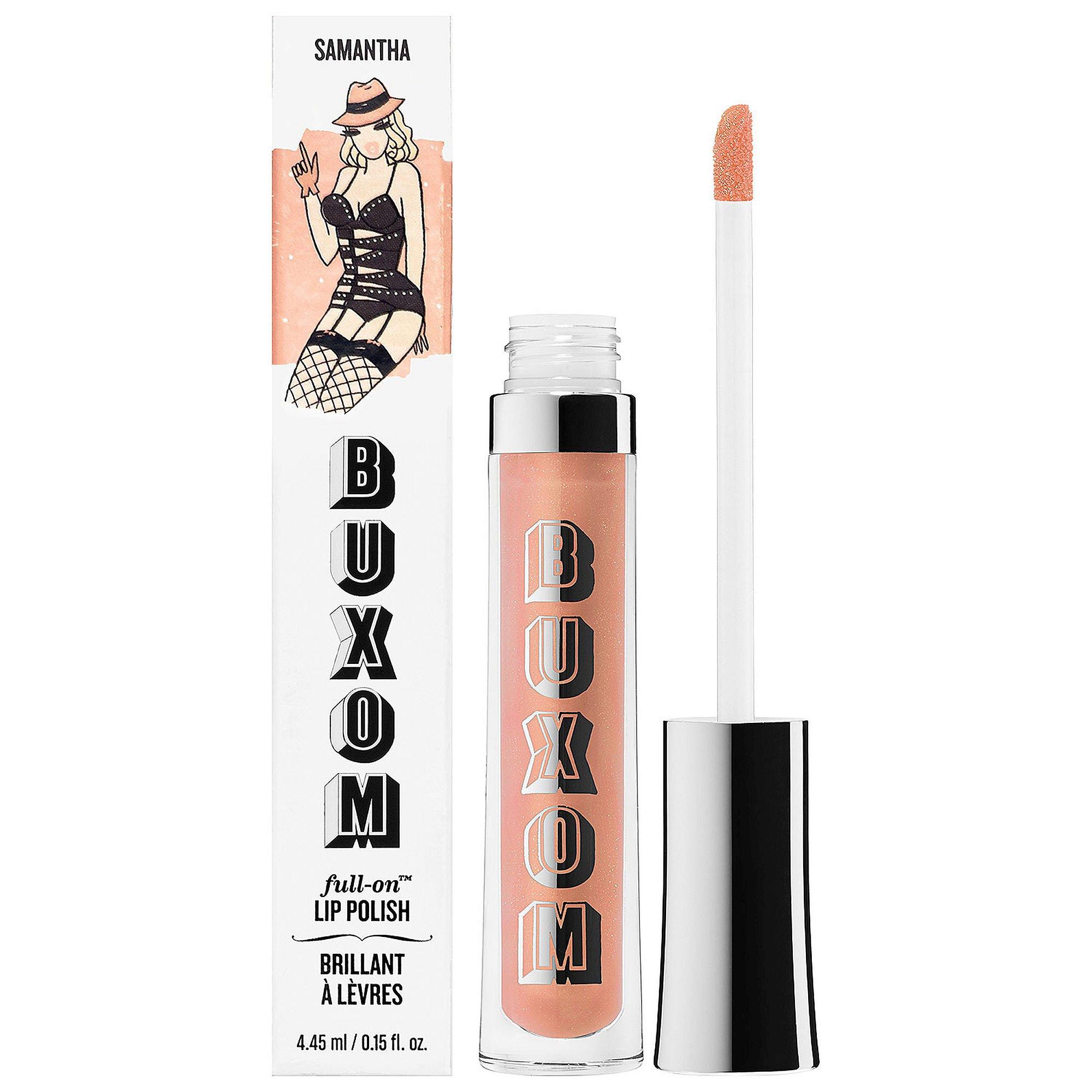 BUXOM Full-On Lip Polish SAMANTHA - original/ light nude Full Size